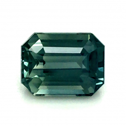 Natural Heated Teal Blue-Green Sapphire 1.50 carats