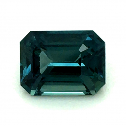 Natural Heated Teal Green-Blue Sapphire 1.52 carats