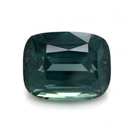 Natural Heated Teal Blue-Green Sapphire 1.55 carats