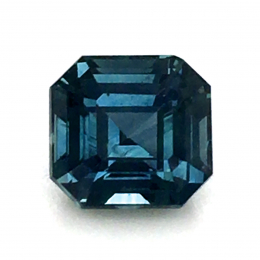 Natural Heated Teal Green-Blue Sapphire 1.55 carats