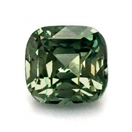Natural Heated Teal Blue-Green Sapphire 1.56 carats