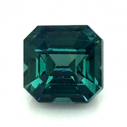 Natural Heated Teal Green-Blue Sapphire 1.56 carats