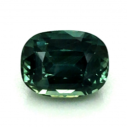 Natural Heated Teal Blue-Green Sapphire 1.57 carats
