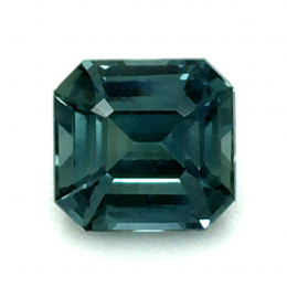 Natural Heated Teal Green-Blue Sapphire 1.58 carats