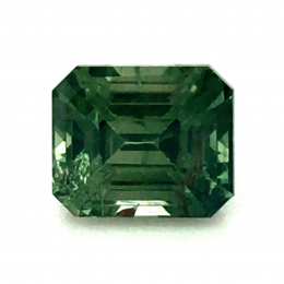 Natural Heated Teal Blue-Green Sapphire 1.59 carats