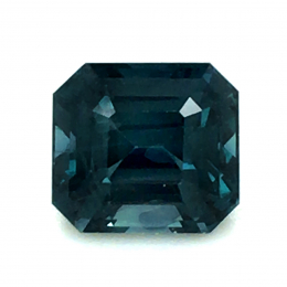 Natural Heated Teal Green-Blue Sapphire 1.60 carats