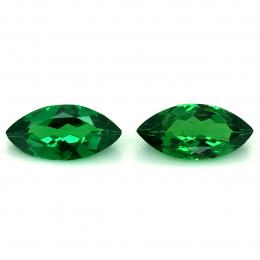 Natural Tsavorite Matching Pair 2.30 carats