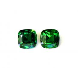 Natural Chrome Tourmaline Matching Pair 4.57 carats