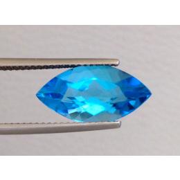 Natural Swiss Blue Topaz 4.83 carats