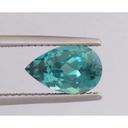 Natural Neon Blue Green Tourmaline 1.73 carats