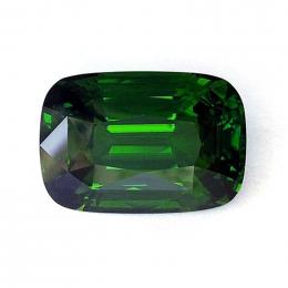 Natural Peridot cushion shape green color 73.18 carats