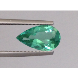 Natural Neon Blue Green Tourmaline 1.35 carats