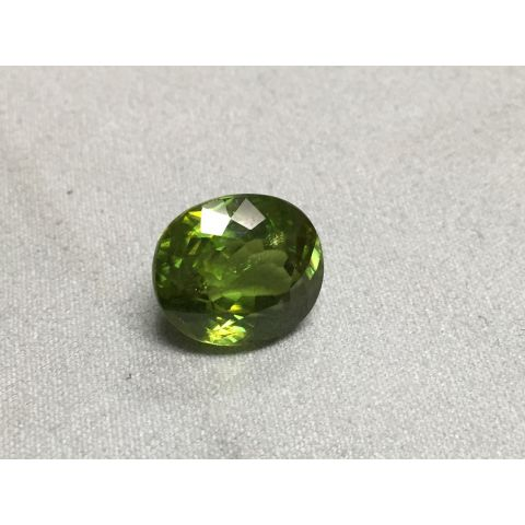 Natural Sphene oval shape 12.69 carats