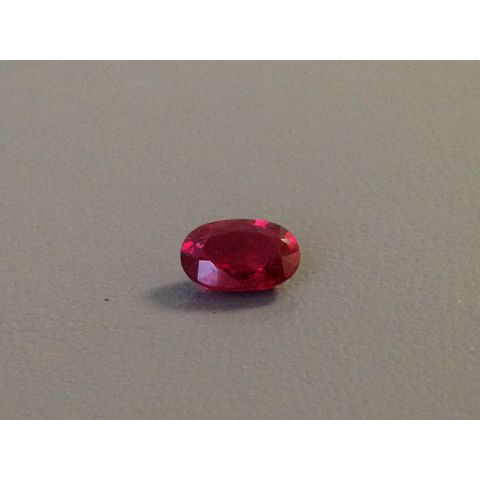 Ruby 1.29cts GRS Unheated Tanzania
