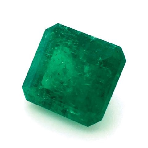 Natural Colombian Emerald 5.54 carats with GIA Report