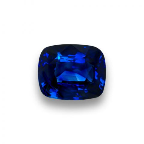 8.59cts NATURAL VIVID BLUE SAPPHIRE - SOLD