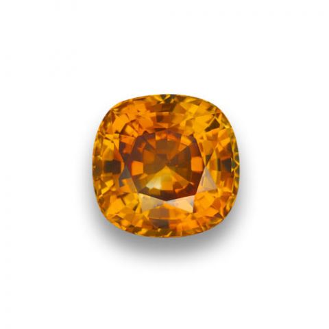 Orange Sapphire 5.21cts GIA Certified - SOLD