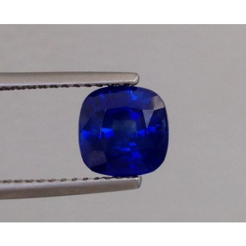 Natural Heated Blue Sapphire blue color cushion shape 1.94 carats with GIA Report