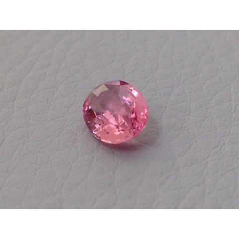 Natural Heated Padparadscha Sapphire orange-pink color oval shape 1.47 carats with GRS Report - sold