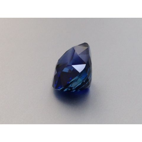 Natural Heated Blue Sapphire vivid blue color oval shape 10.64 carats with GRS Report / video
