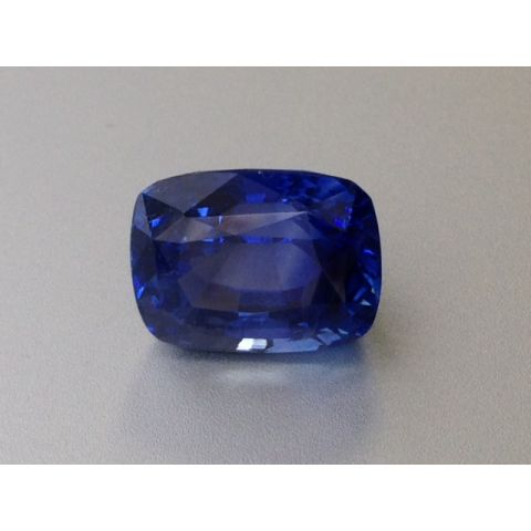 Extremely rare Natural Unheated Blue Sapphire 7.58 carats with GRS Report