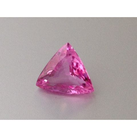 Natural Heated Pink Sapphire pink color trill shape 2.99 carats