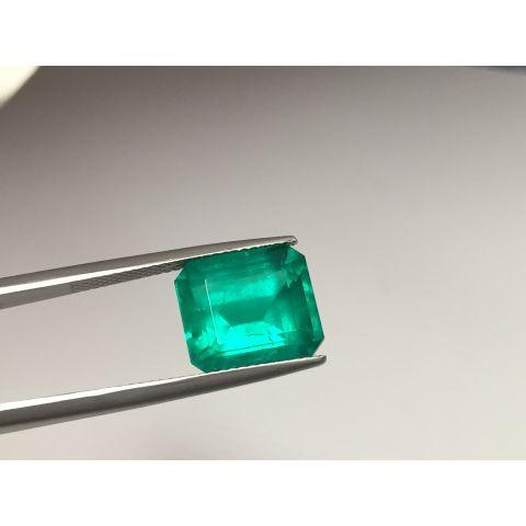 Natural Emerald octagonal 6.58 carats GIA Report / video
