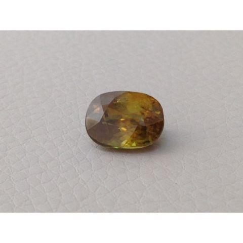 Natural Sphene cushion shape 3.99 carats