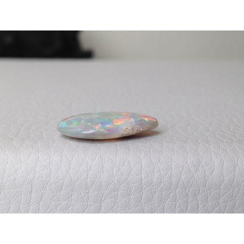 Black Boulder Opal multi color pear shape 5.50 carats - sold GSN on February