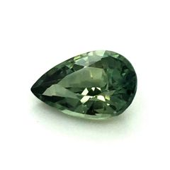Natural Heated Teal Blue-Green Sapphire 0.96 carats