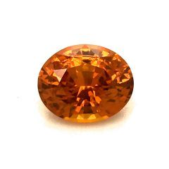Natural Heated Orange Sapphire 1.53 carats