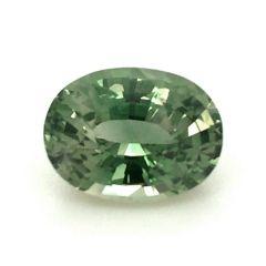 Natural Unheated Teal Bluish Green Sapphire 1.61 carats
