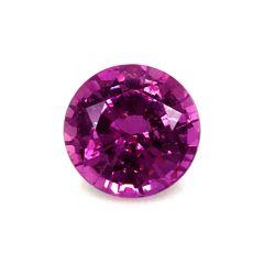 Natural Unheated Purple Sapphire 1.96 carats