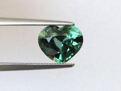 Natural Unheated Teal Bluish Green Sapphire 2.06 carats