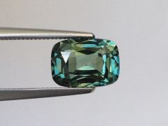Natural Unheated Teal Bluish Green Sapphire 2.18 carats
