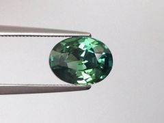 Natural Unheated Teal Green-Blue Sapphire 2.63 carats