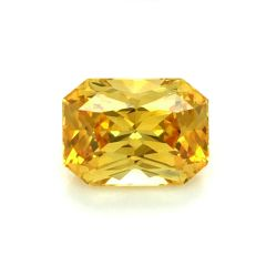 Natural Heated Orangy-Yellow Sapphire 2.75 carats