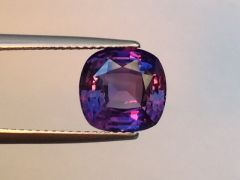 Natural Unheated Color Change Sapphire 4.10 carats