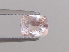 Natural Unheated Orange Sapphire 1.13 carats
