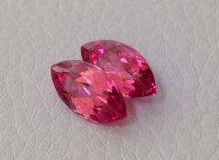 Natural Pink Tourmaline Pair 3.93 carats
