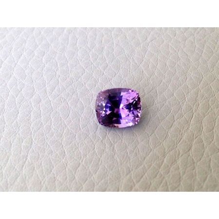 Natural Unheated Purple Sapphire purple color cushion shape 2.03 carats with GIA Report