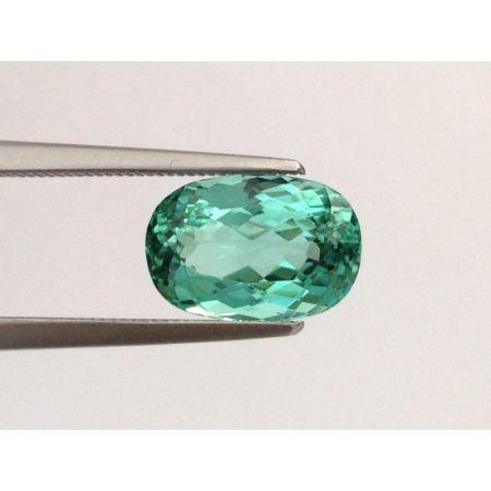 Natural Popsicle Blue Tourmaline 2.62 carats