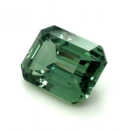 Natural Unheated Ethiopian Teal Bluish Green Sapphire 8.72 carats