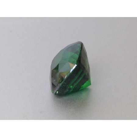 Natural Tsavorite dark green color cushion shape 5.91 carats / video