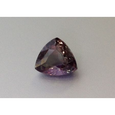 Natural Alexandrite with excellent color change trillion shape 2.97 carats with GIA Report / video