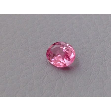 Natural Heated Padparadscha Sapphire orangy-pink color oval shape 0.81 carats with GRS Report - sold