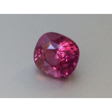 Natural Heated Pink Sapphire purplish pink color cushion shape 2.52 carats with GIA Report
