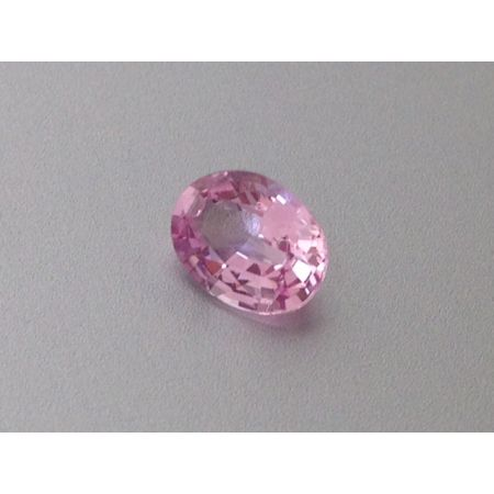 Natural Unheated Padparadscha Sapphire orange-pink color oval shape 0.95 carats with GRS Report - sold