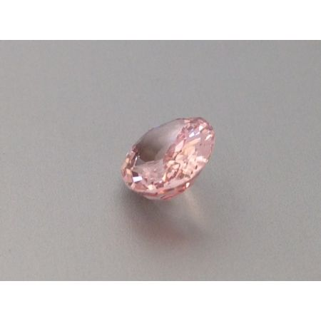 Natural Unheated Padparadscha Sapphire pastel pinkish-orange color oval shape 1.74 carats with GRS Report