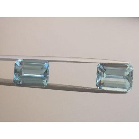 Aquamarine Pair 9.06cts  - sold